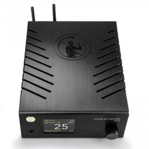 Gold Note DS-10 DA konverter, streamer, előerősítő, fejhallgató erősítő