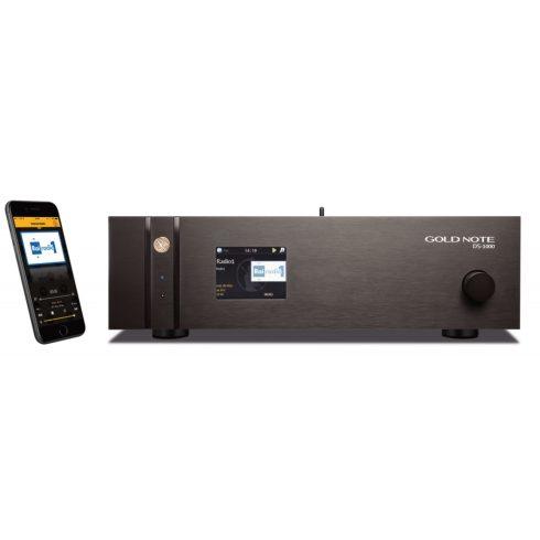 Gold Note DS-1000 MKII High End DA konverter és hálózati lejátszó
