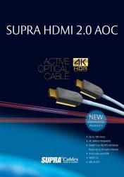 Supra HDMI-HDMI AOC optical
