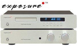 Exposure 1010 sztereó erősítő és 1010 CD lejátszó